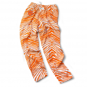 Clemson Tigers Orange Zebra Pant