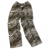 Vanderbilt BlackBurnished Gold Zebra Pant