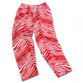Wisconsin Badgers Red Zebra Pant