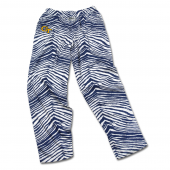 Georgia Tech Yellow Jackets NavyWhite Zebra Pant