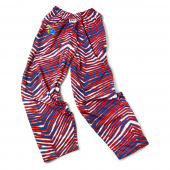 University Of Kansas New BlueRed Zebra Pant