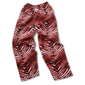 Texas Tech Red Raiders BlackRed Zebra Pant