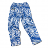 University at Buffalo Royal Blue Zebra Pant