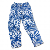 Indiana State Sycamores Royal Blue Zebra Pant