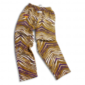 Northern Iowa Panthers PurpleGold Zebra Pant