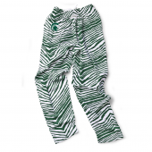 Michigan State Spartans Green Zebra Pant