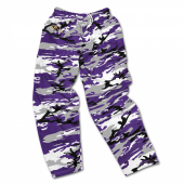 Mens Baltimore Ravens Camo Pants
