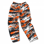 Cincinnati Bengals Screen Print Camo Pants