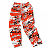 Cleveland Browns Screen Print Logo Camo Pants