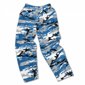 Detroit Lions Screen Print Logo Camo Pants