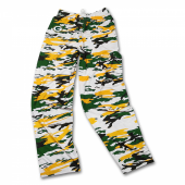 Green Bay Packers Screen Print Logo Camo Pants