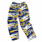 Los Angeles Chargers Screen Print Logo Camo Pants