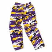 Minnesota Vikings Screen Print Logo Camo Pants