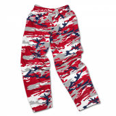 New England Patriots Screen Print Logo Camo Pants