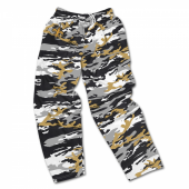 New Orleans Saints Screen Print Camo Pants