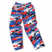 New York Giants Screen Print Camo Pants