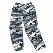 Oakland Raiders Screen Print Logo Camo Pants