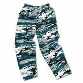 Philadelphia Eagles Screen Print Logo Camo Pants