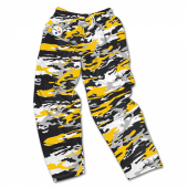 Pittsburgh Steelers Screen Print Logo Camo Pants