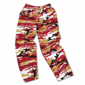 San Francisco 49ers Screen Print Logo Camo Pants
