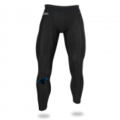 Mens Carolina Panthers Black Legging