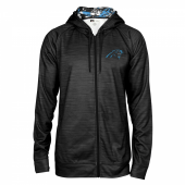 Carolina Panthers Full Zipper Hoodie