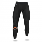 Mens Chicago Bears Black Legging