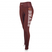 Womens Chicago Bears Faux Mesh Print Legging