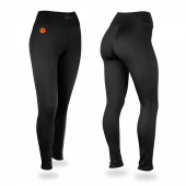 Clemson Tigers Black Leggings