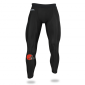 Mens Cleveland Browns Black Legging