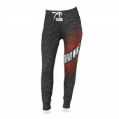 Womens Cleveland Browns Heather Gray Jogger