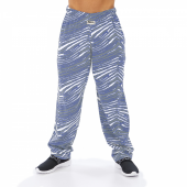 Cool GrayRoyal Blue Zebra Pant