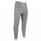 Mens Denver Broncos Heather Gray Jogger
