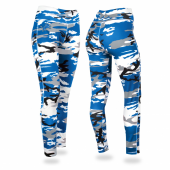 Detroit Lions Camo Leggings