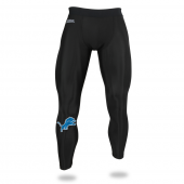 Mens Detroit Lions Black Legging