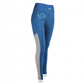 Womens Detroit Lions Solid Legging With Side Mesh