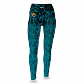Jacksonville Jaguars BlackJaguar Teal Gradient Legging