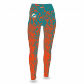 Miami Dolphins Gradient Leggings