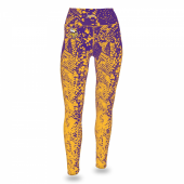 Minnesota Vikings PurpleGold Gradient Legging