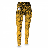 Pittsburgh Steelers BlackGold Gradient Legging
