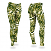 GreenGold Zebra Legging
