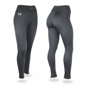 Green Bay Packers Charcoal Leggings