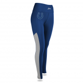 Womens Indianapolis Colts Solid Legging With Side Mesh