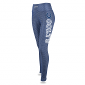 Womens Indianapolis Colts Faux Mesh Print Legging
