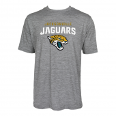 Mens Jacksonville Jaguars Large GraphicLogo Gray Space Dye Tshirt