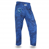 Kansas City Royals NavyRoyal Tone On Tone Zebra Pant