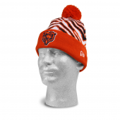 7574c4fa0 Chicago Bears New Era Knit Cap | Navy Blue/Orange | Zubaz Store