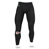 Mens Kansas City Chiefs Black Legging