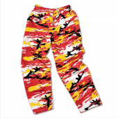 Kansas City Chiefs RedGold Camo Pant