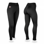 Kansas City Chiefs Black Leggings